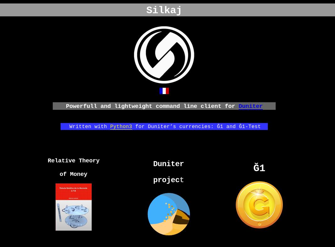 silkaj_website_screenshot